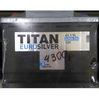 Купить TITAN EUROSILVER 6СТ-61.0 VL