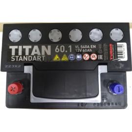 TITAN STANDART 6СТ-60.0 VL